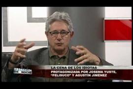 "La cena de los idiotas. Josema Yuste, ""Felisuco"" y Agustín JIménez"