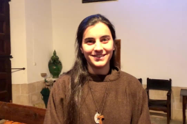 Margarita Bauzá, postulante a monja de clausura