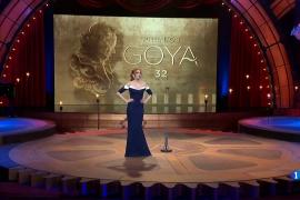 Monólogo de Cristina Castaño en los Goya 2018