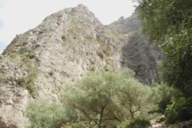 Rescate del cuerpo del escalador muerto en Sa Gúbia