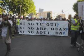 Manifestación de 'los indignados' en Palma