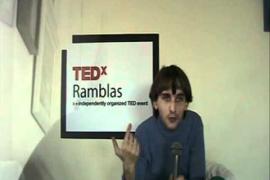 Neil Harbisson- Cyborg sonocromático- TEDxRamblas