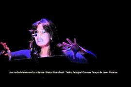 Blanca Marsillach - Una noche blanca con los clásicos - Teatro Principal Ourense TdLOU