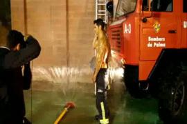 Sesión de fotos del calendario de bomberos