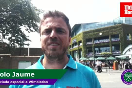 Tolo Jaume en Wimbledon