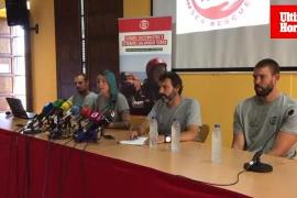 La ONG Proactiva Open Arms, en Palma