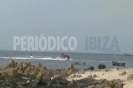 Vídeo   Motos acuáticas a su aire en s'Estany des Peix