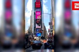 Vídeo de Domingo Zapata en Times Square por el 125 aniversario de Ultima Hora