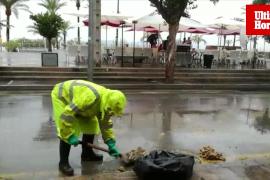 Inundación del alcantarillado en el Arenal