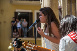 Amaia, ganadora de OT, inaugura el festival Flamenco on Fire de Pamplona