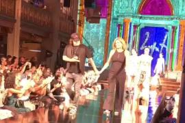 Domingo Zapata e Isabel Guarch en la Semana de la Moda de Nueva York.