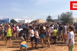 Festa dels Trepitjadors en Binissalem