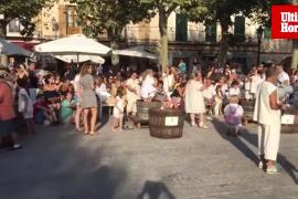 Concurso de pisar uva de Binissalem