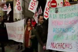Protesta de trabajadores de geriátricos