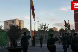 Acto de la patrona de la Guardia Civil