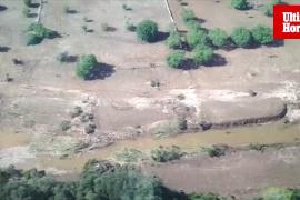 Vista de la zona afectada por la riada de Mallorca