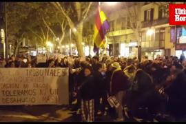 Concentración en Palma contra la sentencia del Supremo sobre el impuesto de las hipotecas