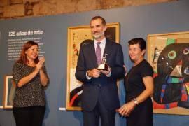 El rey Felipe VI recibe el Siurell de Plata de Ultima Hora