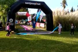 Dani García, ganador de la Ultra Trail de los 3 Días Trail de Ibiza