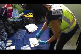 Operación de la Policía Nacional contra la falsificación de dinero