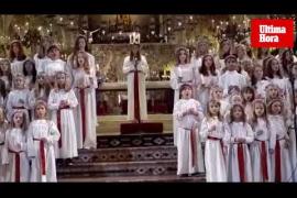 Santa Lucia ilumina la Seu