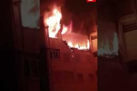 Explosión de gas en Palma