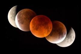 "Eclipse total: ""Superluna de sangre de lobo"""