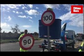 Baja la velocidad en las carreteras