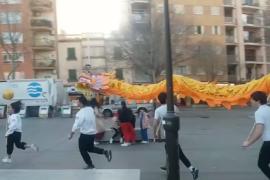 Ensayo del dragón chino Pep