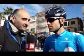 Alejandro Valverde y Lluís Mas, grandes protagonistas de la Challenge