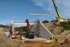 La reconstrucción del puente de Artà