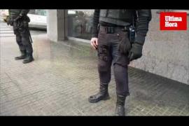 Operación policial en Son Gotleu contra el tráfico de drogas