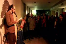 Acto literario y reivindicativo en Can Alcover