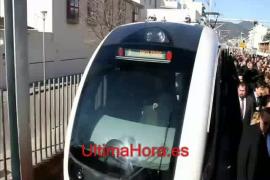Inauguración del servicio eléctrico Palma-Enllaç