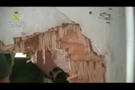 Asalto de la Guardia Civil al velero mallorquín con droga
