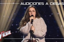 Auba Estela Murillo canta 'Con las ganas' La Voz Antena 3 2019