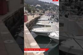 Time-lapse de una 'rissaga' en Sóller
