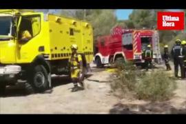 Incendio en El Toro