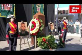 Homenaje a los guardias civiles asesinados por ETA en Mallorca