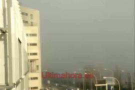 Niebla en Palma