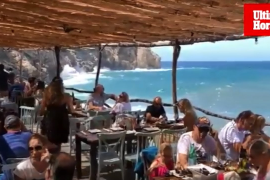 Ca's Patró March, un chiringuito VIP en Mallorca