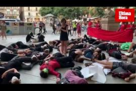Extinction Rebellion Mallorca, acto contra el cambio climático