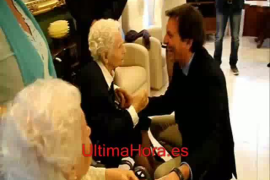 Dos ancianas centenarias cumplen años