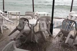 Alerta naranja en Ibiza y Formentera por el temporal