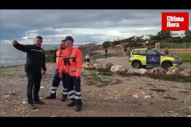 Búsqueda de dos personas arrastradas por el mar en Santanyí