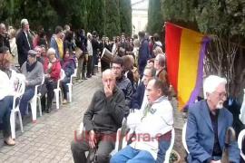 Homenaje a las víctimas de la represión franquista en Son Coletes