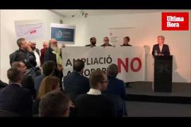 Irrumpen en una conferencia en Palma con motivo del COP25