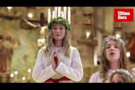 Celebración de Santa Lucía en La Seu