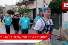Pere Lluís Garau inicia la vuelta a Mallorca