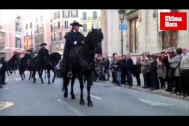 Palma celebra su Festa de l'Estendard